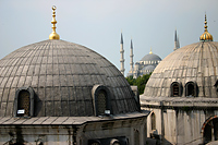 Hagia Sophia and the Blue Mosque