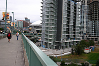 On the Cambie Street Bridge